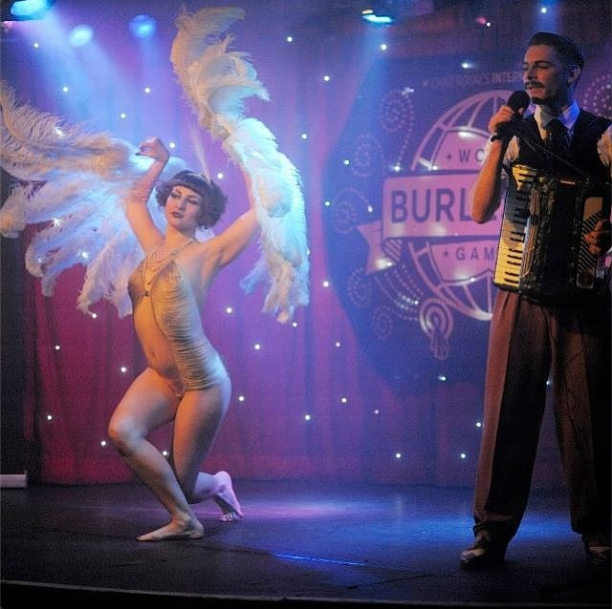 Collette and Willy performing at Twisted Burlesque