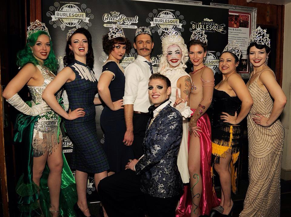 Winners of the World Burlesque Games 2013