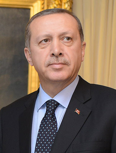 Turkish PM Recep Tayyip Erdogan, Source: Wikipedia